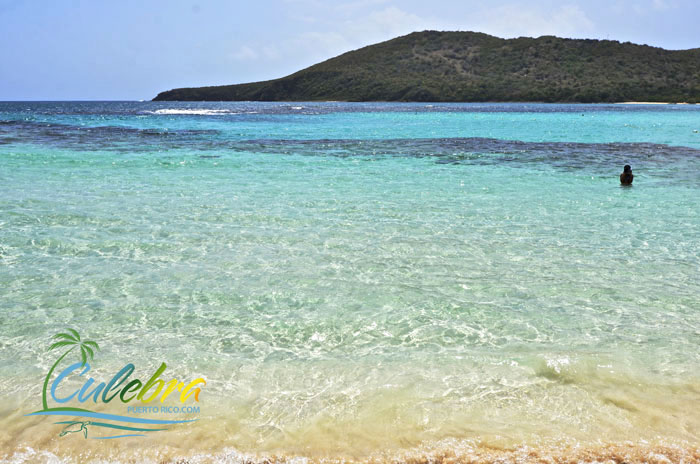 Enjoy the clear waters of Culebra, Puerto Rico