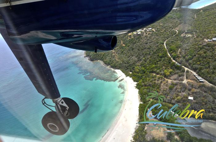 Flights to Culebra Island, Puerto Rico.