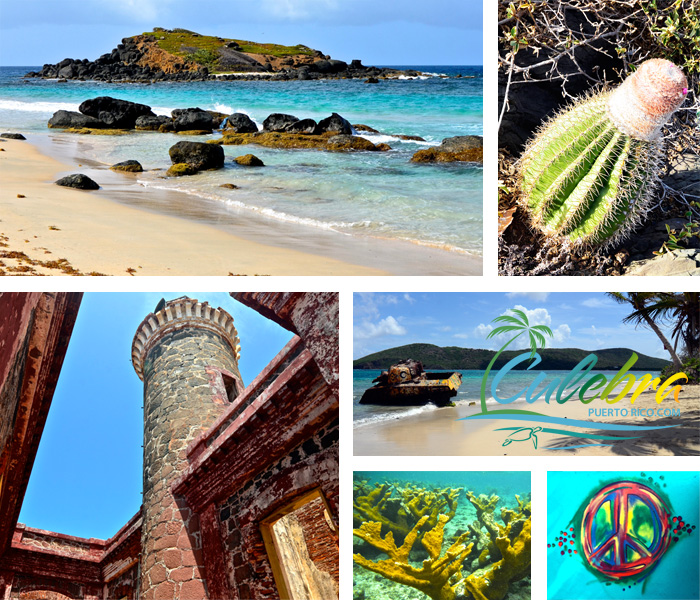 Culebra Puerto Rico Attractions and Points of Interest Tourist – Puerto Rico Tourist Attractions Map