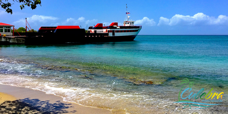 Cargo / Passenger Ferry - Culebra, Puerto Rico