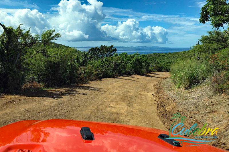 Road to Punta Soldado Beach - Culebra, Puerto Rico