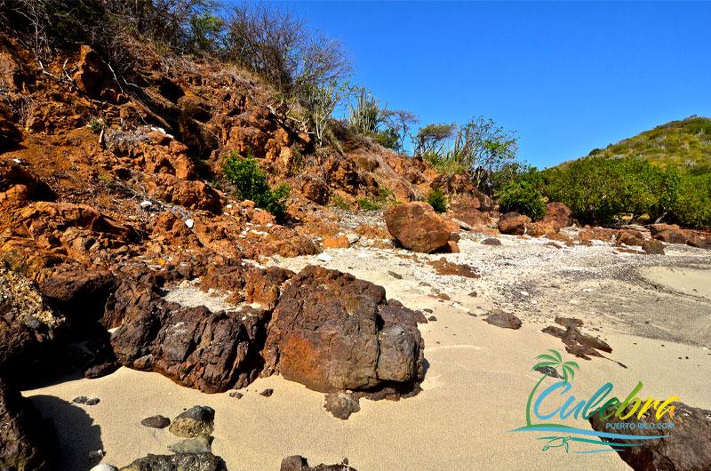 Punta Soldado Beach  - Culebra Island, Puerto Rico