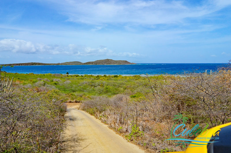 Road to Zoni Beach - Culebra, Puerto Rico