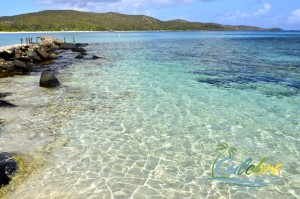 Shallow waters are perfect for small children - Flamenco Beach, Culebra, Puerto Rico