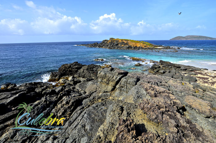 Beautiful scenic places in Culebra, Puerto Rico