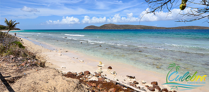 Zoni Beach / Playa Soni - One of the beaches of Isla de Culebra, Puerto Rico