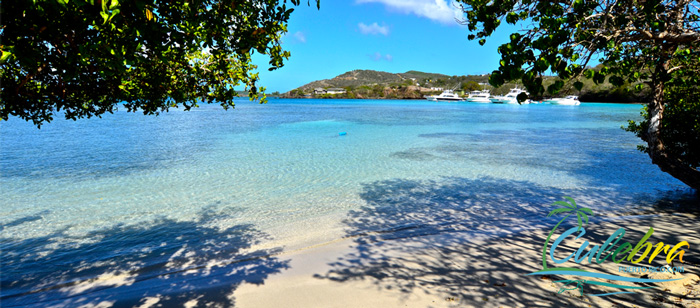 Datiles Beach - One of the beautiful beaches of Isla de Culebra, Puerto Rico