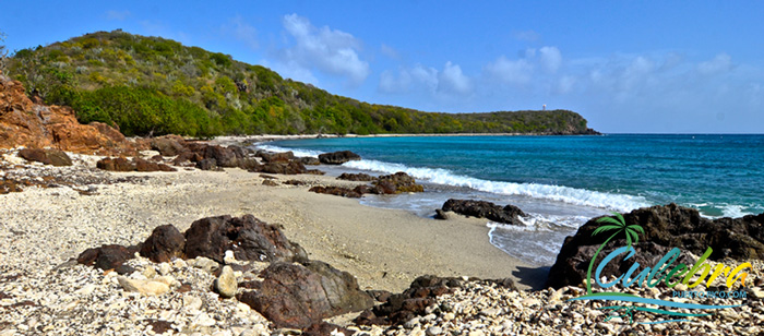 Punta Soldado - One of the beautiful beaches of Culebra Island, Puerto Rico