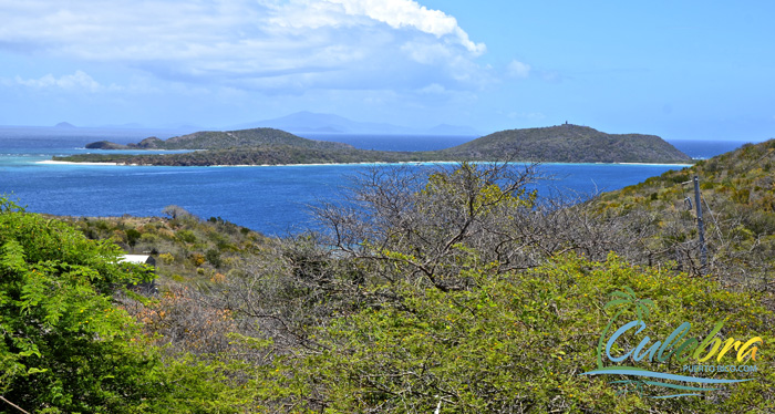 Views of Culebrita - Culebra, One of the Islands of Puerto Rico