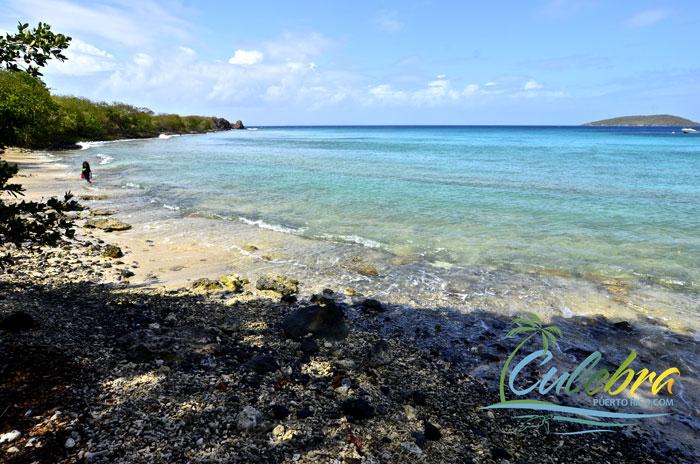 Left end of Melones beach - Culebra, Puerto Rico