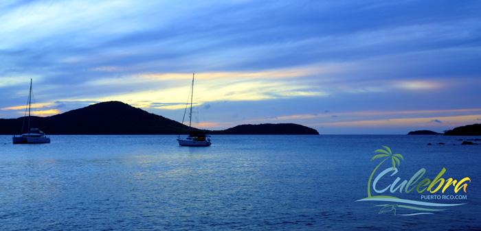 Sunset at Melones Beach - Culebra, Puerto Rico