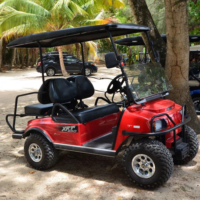 Driving around Culebra, Puerto Rico