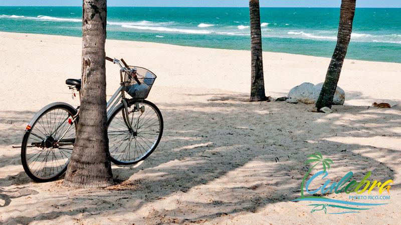 Bicycling in Culebra Puerto Rico
